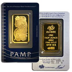 1 Oz Gold Bars Cornerstone Bullion Your Trusted Source