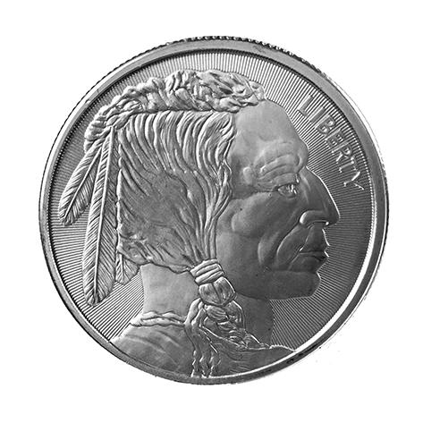 1 Oz Silver Buffalo Rounds
