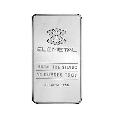 10 Oz Silver Elemetal Bars