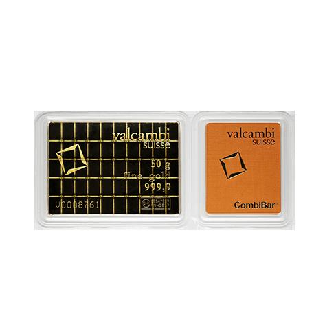 Fractional Gold Bars Valcambi Cornerstone Bullion