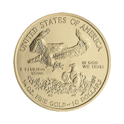 quarter-oz-american-gold-eagle-coin-back