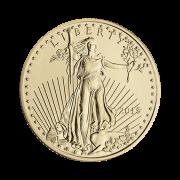 quarter-oz-american-gold-eagle-coin-front