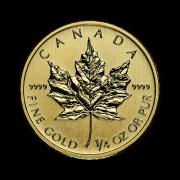 quarter-oz-canadian-gold-maple-leaf-coin-back